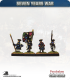 10mm Seven Years War: French Tricorn Foot - March Attack (no turnbacks)