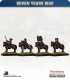 10mm Seven Years War: French Heavy cavalry