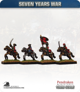 10mm Seven Years War: French Dragoons