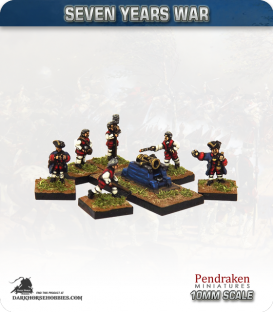 10mm Seven Years War: French 12in Mortar with Crew