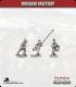10mm Indian Mutiny: Mutineers - Ex-Company Command in Civilian Dress