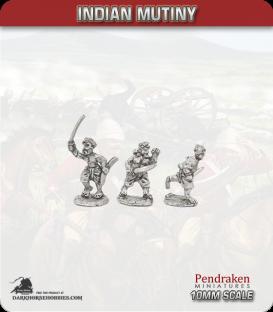 10mm Indian Mutiny: Mutineers - Civilian insurgents / Badmash