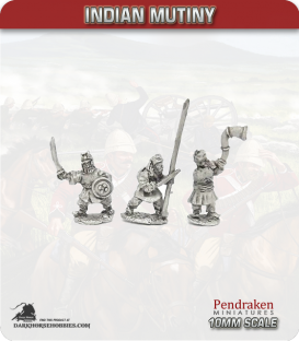 10mm Indian Mutiny: Mutineers - Feudal Command