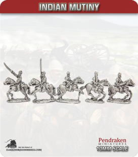 10mm Indian Mutiny: Mutineers - Bengal Light Cavalry in Company Dress