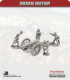 10mm Indian Mutiny: Mutineers - 24pdr Field Guns with Crew