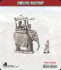 10mm Indian Mutiny: Mutineers - Prince on Elephant