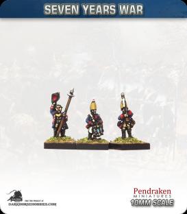 10mm Seven Years War: Prussian Grenadier Foot - Port Fire