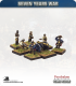 10mm Seven Years War: Prussian 3pdr Gun with Crew