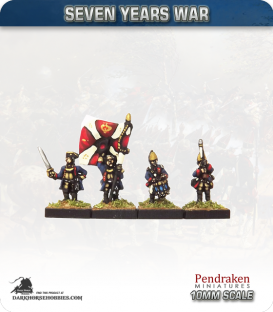 10mm Seven Years War: Prussian Fusilier Foot - Port Fire