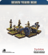 10mm Seven Years War: Prussian 12pdr Gun with Limber, Horses and Crew