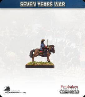 10mm Seven Years War: Prussian Field Officers