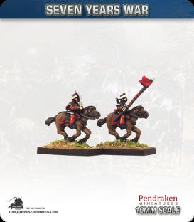 10mm Seven Years War: Prussian Bosniak Lancers