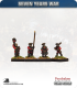 10mm Seven Years War: Russian Tricorn Foot - Marching (in waistcoat)