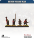 10mm Seven Years War: Russian Tricorn Foot - Advancing (in waistcoat)