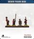 10mm Seven Years War: Russian Tricorn Foot - Port Musket (in waistcoat)