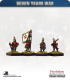10mm Seven Years War: Russian Grenadier Foot - Marching (in waistcoat)