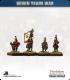 10mm Seven Years War: Russian Grenadier Foot - Port Fire (in winter coat)
