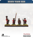 10mm Seven Years War: Russian Observation Corp Musketeer - Standing