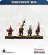 10mm Seven Years War: Russian Observation Corp Grenadier - Marching