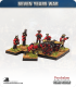 10mm Seven Years War: Russian 6pdr Gun with Limber, Horses and Crew