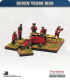 10mm Seven Years War: Russian 12pdr Fortress/Naval Gun with Crew