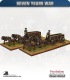 10mm Seven Years War: Supply Wagon and Team