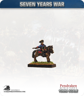 10mm Seven Years War: King Frederick the Great