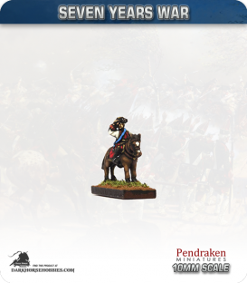 10mm Seven Years War: Prince Ferdinand of Brunswick-Luneburg