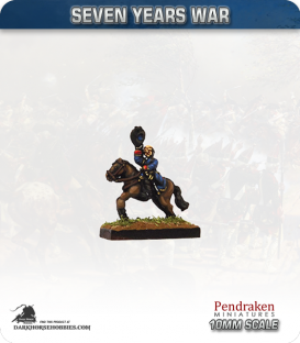 10mm Seven Years War: Lt. Gen. Manners, Marquis of Granby