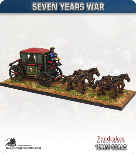 10mm Seven Years War: 17/18th Century Carriage