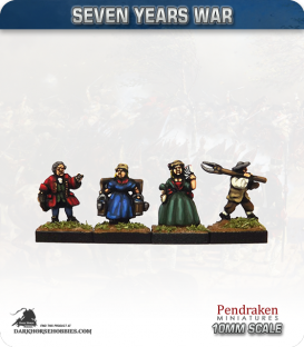 10mm Seven Years War: Civilians