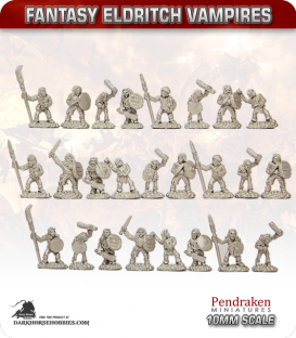10mm Fantasy Eldritch Vampires: Thralls