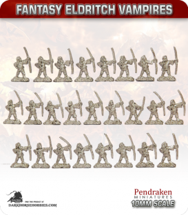 10mm Fantasy Eldritch Vampires: Thrall Archers