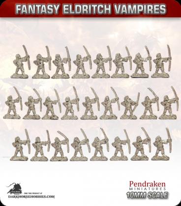 10mm Fantasy Eldritch Vampires: Thrall Archers