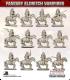 10mm Fantasy Eldritch Vampires: Mounted Thralls