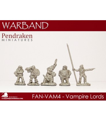 10mm Fantasy Eldritch Vampires: Vampire Lords