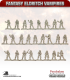 10mm Fantasy Eldritch Vampires: Ghouls
