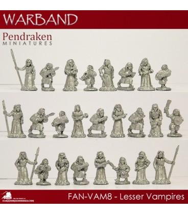 10mm Fantasy Eldritch Vampires: Lesser Vampires