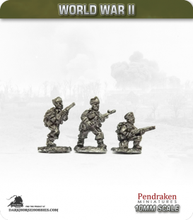 10mm World War II: British - Commandos type 2 (mixed weapons)