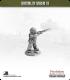 10mm World War II: British - Home Guard in Helmet w/ Rifle - Firing