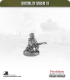 10mm World War II: British - Home Guard/Civ in Side Cap w/ Rifle - Kneeling