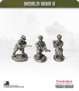 10mm World War II: British - Civilians (upper class) pack