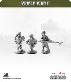 10mm World War II: British - Combat Engineers pack