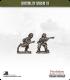 10mm World War II: British - Riflemen in Mk III (turtle helmet)