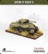 10mm World War II: British - M4A1 Sherman tank - 75mm (side skirts)
