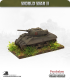 10mm World War II: British - M4A2 Sherman III tank - 75mm (turret back box)