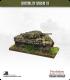 10mm World War II: British - M4A4 Sherman V tank - 75mm (camouflaged)