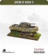 10mm World War II: British - M4A4 Sherman V Tank with Duplex drive - 75mm (screens down)