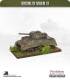 10mm World War II: British - M4A1 Sherman tank - 75mm (back box, sand skirts)