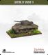 10mm World War II: British - M4A2 Sherman tank - 75mm (mid-war, turret back box)